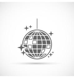 Disco Ball Icon vector image