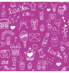 Love pattern vector