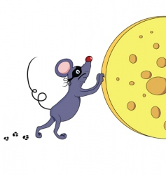 mouse thief vector image