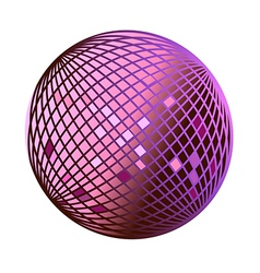 Icon disco ball vector