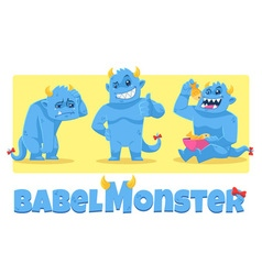 Babel monster vector