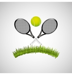 sport tennis people vector image