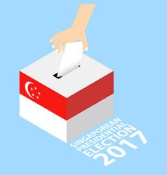 Singaporean presidential election 2017 vector