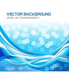 Abstract water background vector image vector image