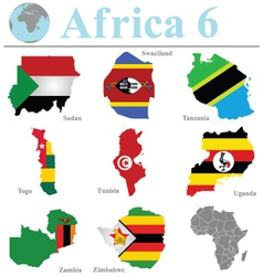 Africa collection 6 vector