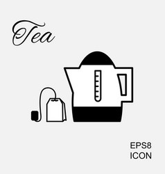 Kettle or teapot icon vector
