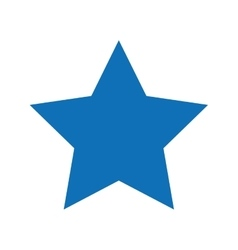 Star isolated icon design vector