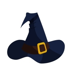 Witch hat icon in cartoon style vector image vector image