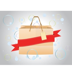 Shopping bag design3 vector
