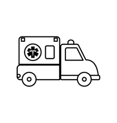 Ambulance icon medical and health care design vector