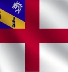 Herm flag vector