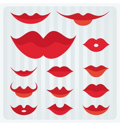 Lips design vector