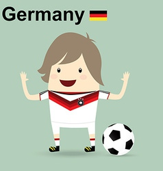 Germany national football team businessman happy vector