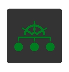 Rule icon vector