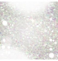 Glitter texture with glows and bokeh vector