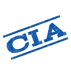 Cia watermark stamp vector