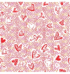 heart texture vector image vector image