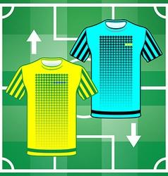 Team sportswear uniform vector