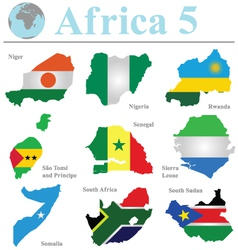 Africa collection 5 vector