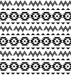 Tribal pattern Aztec seamless background vector image