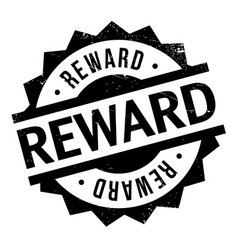 Reward rubber stamp vector