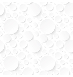 Seamless background with white circles vector
