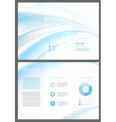 Abstract creative pattern booklet vector