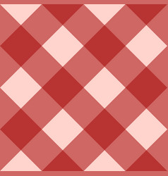 Red checkered seamless background vector