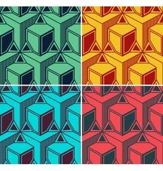 3d vintage background vector