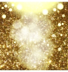 glitter texture with glows and bokeh vector image