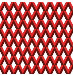 abstract pattern with rhombus vector image