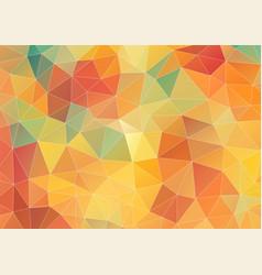 Flat geometric triangle wallpaper vector