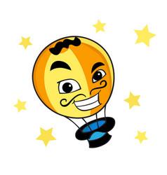 Magic ballon vector