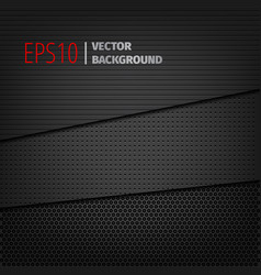 three dark backgrounds vector image