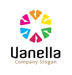 Vanella design vector
