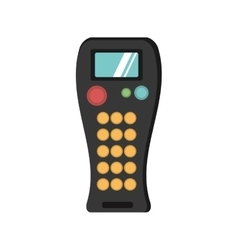 Remote control device isolated icon vector