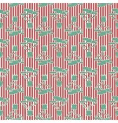 Houseplant seamless pattern vector