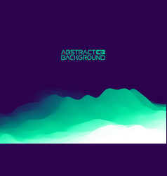3d landscape background purple gradient abstract vector image vector image