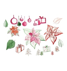 a small set for your holidays vector image
