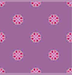 Abstract triangular polygonal shape kaleidoscope vector