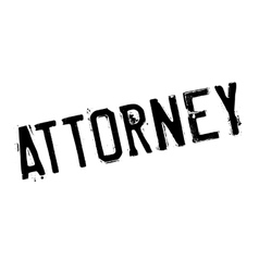 Attorney rubber stamp vector image