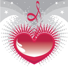 my heart for you vector image