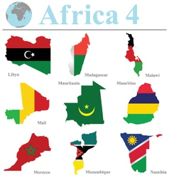 Africa Collection 4 vector image