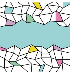 Abstract background template trendy flat style vector