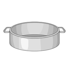 Sieve icon cartoon style vector