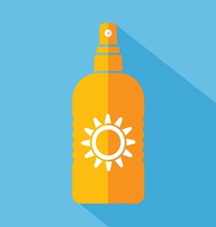 sun protect2 vector image vector image