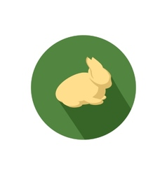 Rabbit icon vector