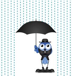 VICAR RAIN vector image vector image