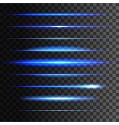 Glowing light lines light glow effect vector