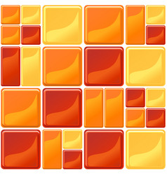 multicolor tiles texture seamless vector image